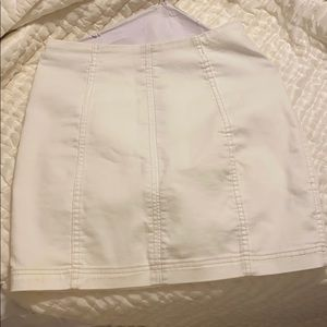 Free people white skirt
